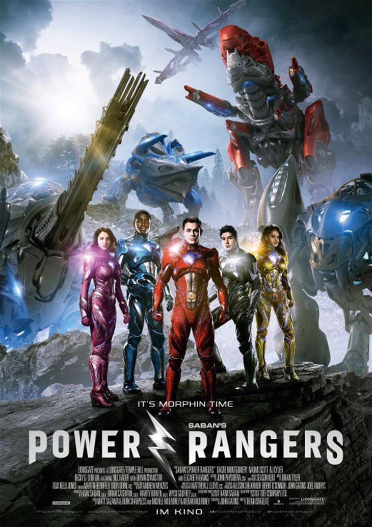 Póster de Power Rangers