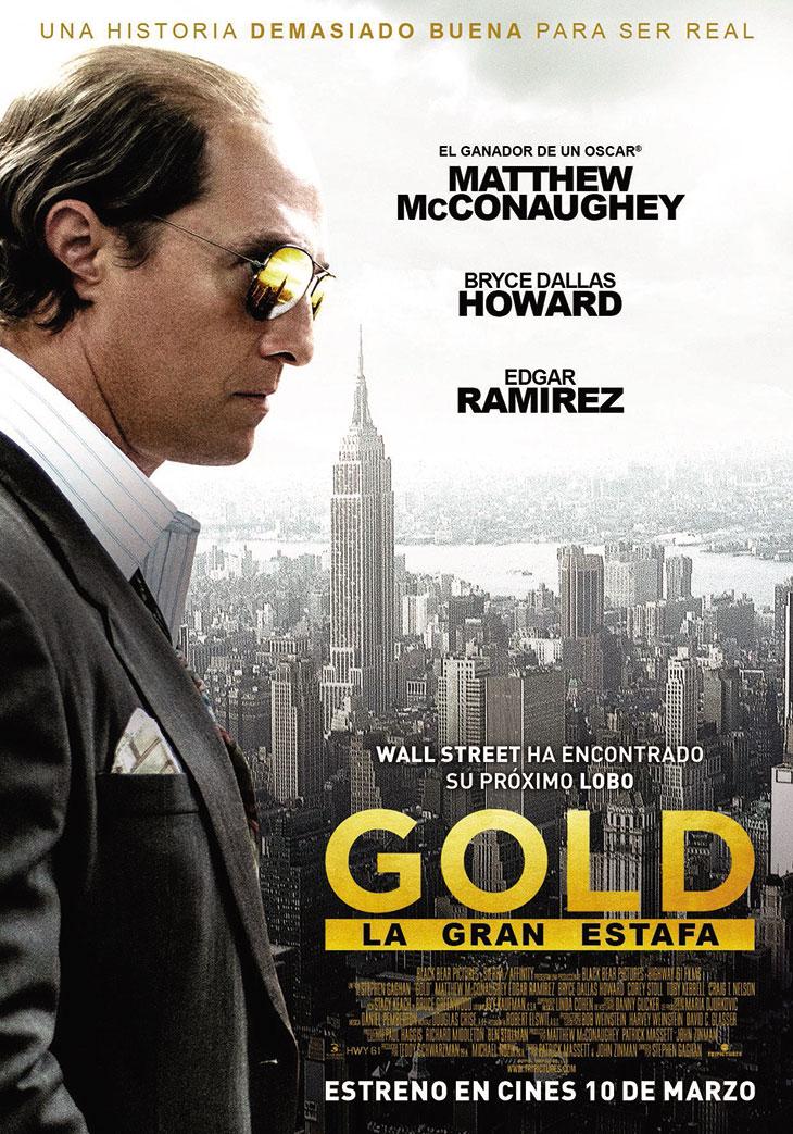 Cartel en español de GOLD