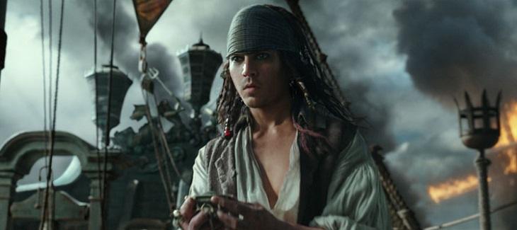 Depp en 'Piratas del Caribe: La venganza de Salazar'