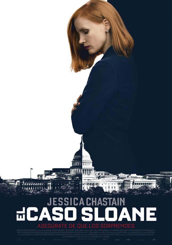 Jessica Chastain protagoniza 'El caso Sloane' lo último de John Madden