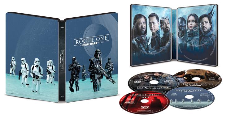 La misión llega a casa 'rogue one: una historia de star wars' ya disponible en blu-ray en plataformas digitales desde el 7 de abril