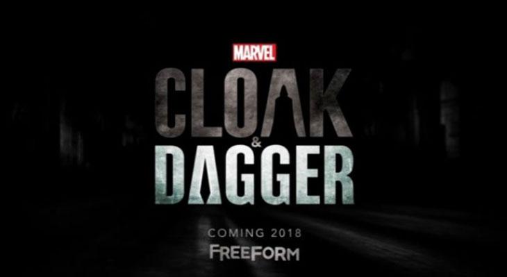 Arte promocional de Cloak and Dagger