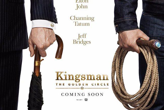 Póster de Kingsman: The Golden Circle destacada