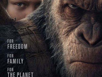 Nuevo póster de La Guerra del Planeta de los Simios destacada