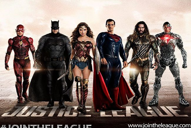 Póster de Justice League destacada