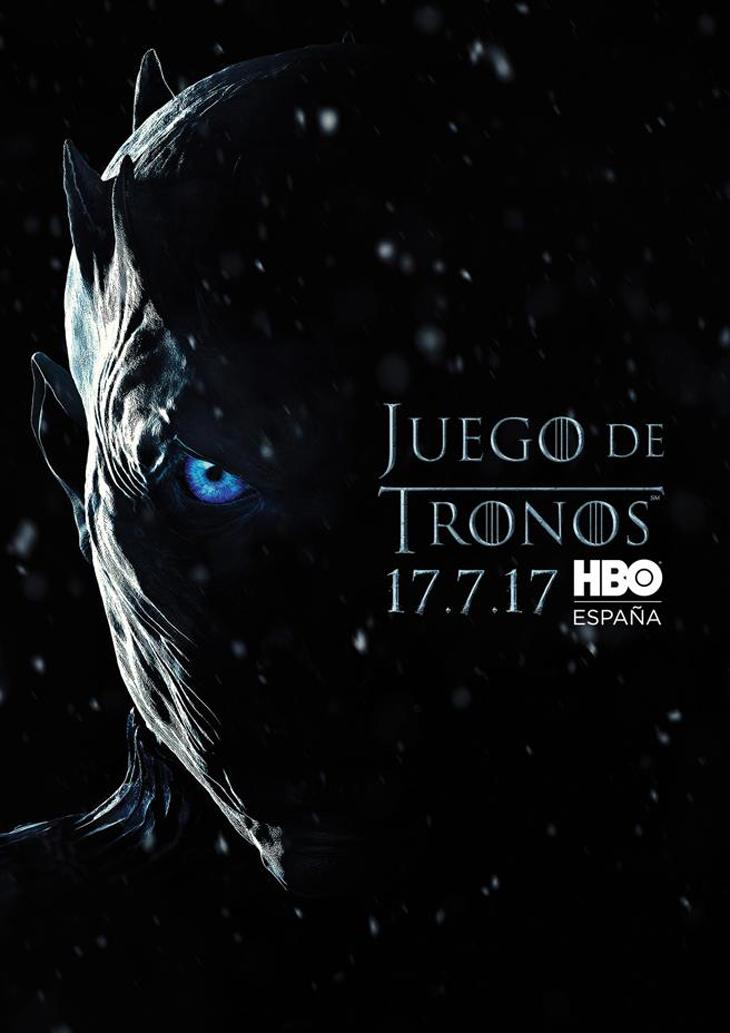 Poster oficial de la séptima temporada de Juego de Tronos