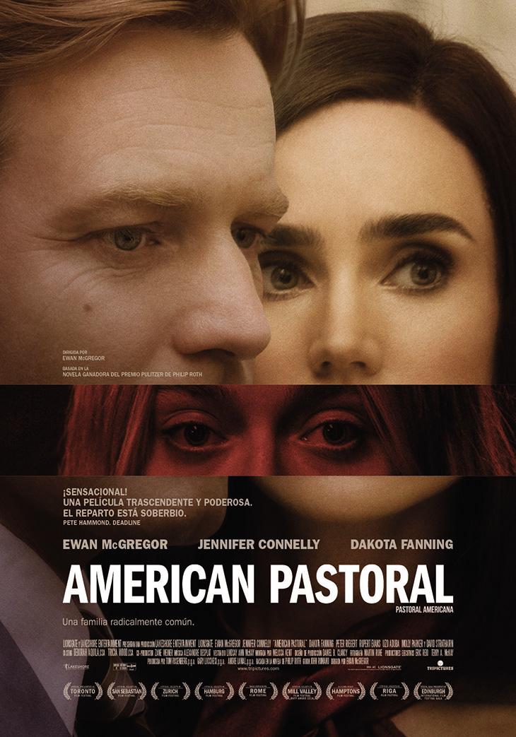 Póster en español de American Pastoral