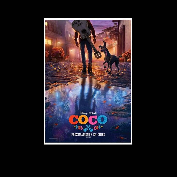 Póster de Coco, de Disney y Pixar