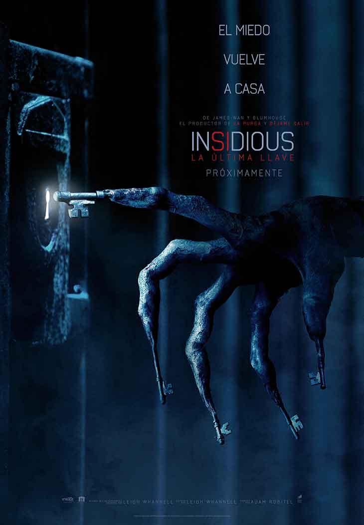 Póster de Insidious: la última llave
