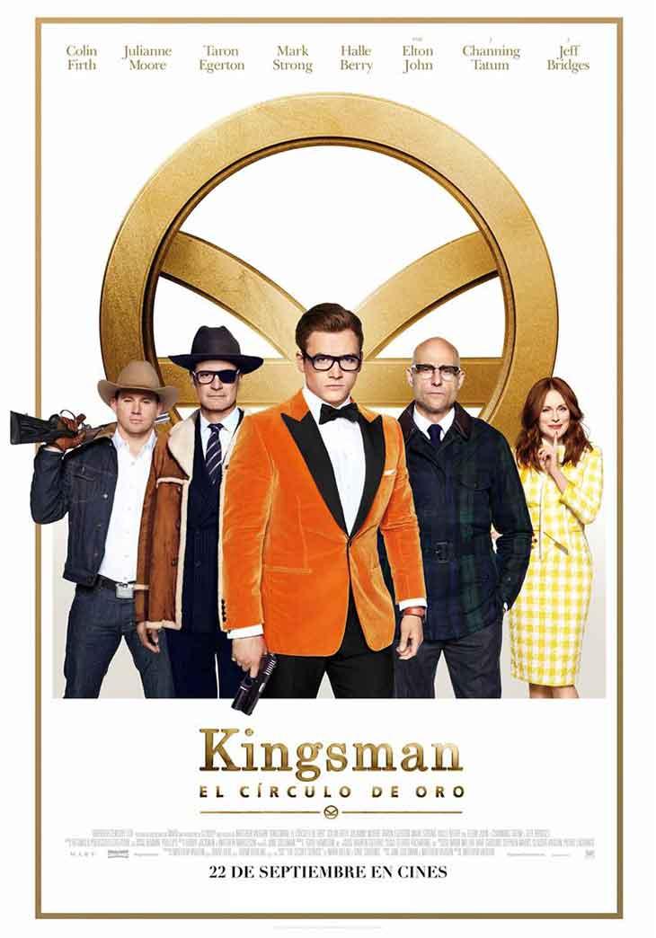 Póster definitivo de 'Kingsman: el círculo de oro'