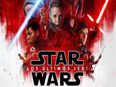 Póster de Star Wars: los últimos Jedi destacada
