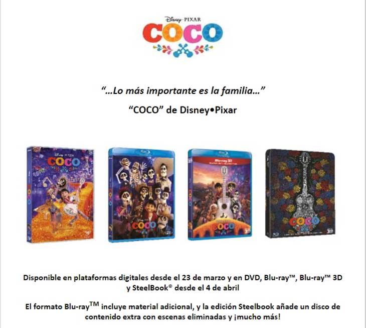 Portadas de Coco