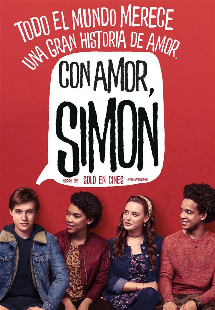 Póster de 'Con amor, Simon'