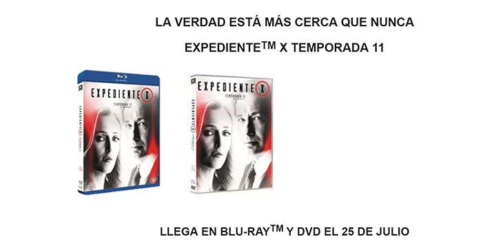 Carátulas temporada 11 de 'Expediente X'