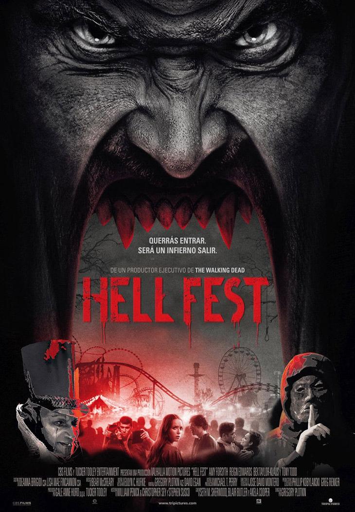 Póster de Hell Fest