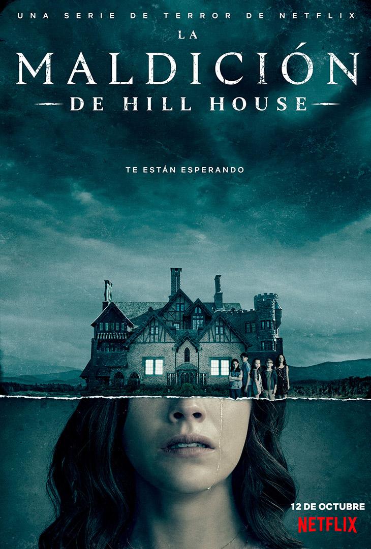 Póster de La maldición de Hill House