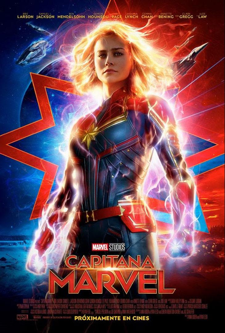 Póster de Capitana Marvel