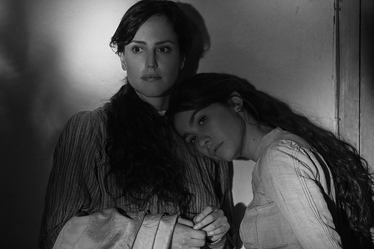 Una imagen de Elisa y Marcela