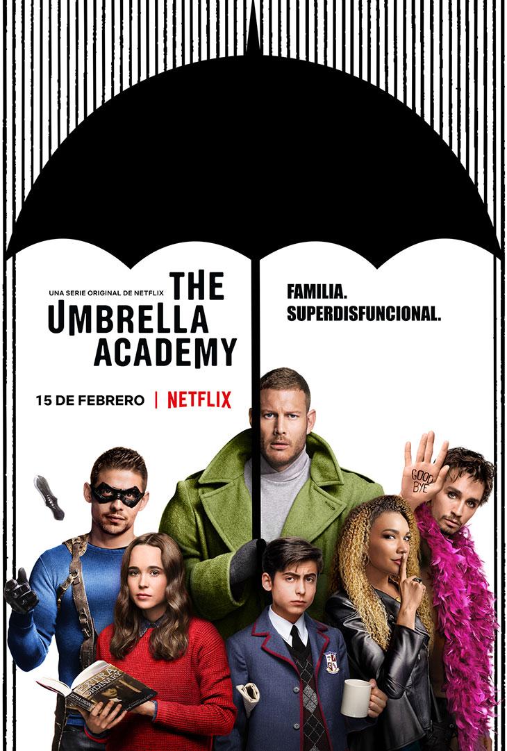 Póster de The Umbrella Academy