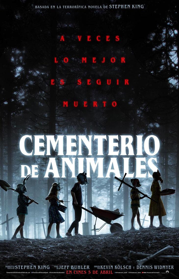 Póster de Cementerio de Animales
