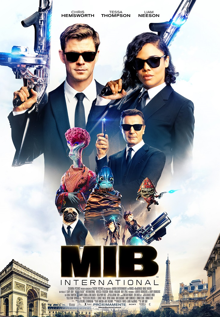 Póster de MIB International