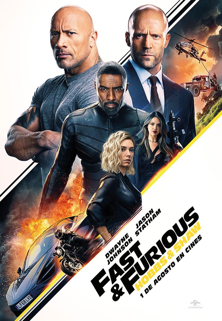 Póster de Fast & Furious: Hobbs & Shaw