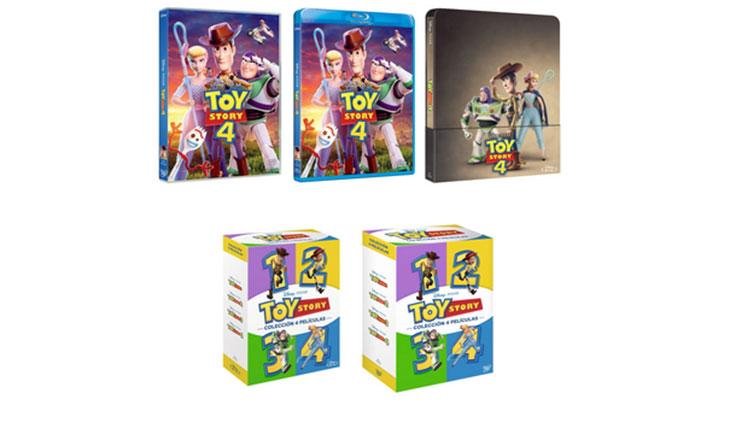 Todas las ediciones de Toy Story 4