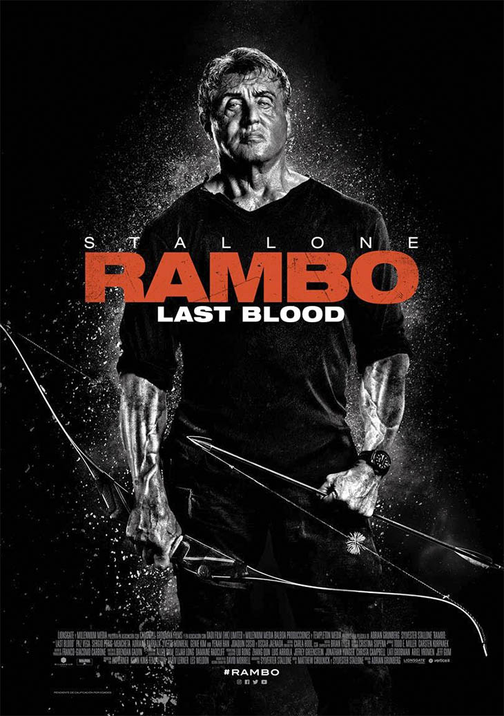 Póster de Rambo Last Blood