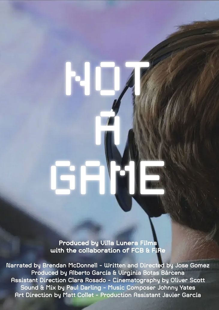 Póster de Not a game