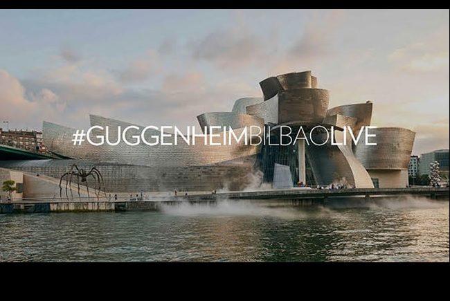 #GuggenheimBilbaoLive destacada