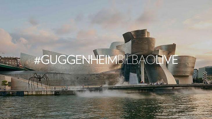#GuggenheimBilbaoLive