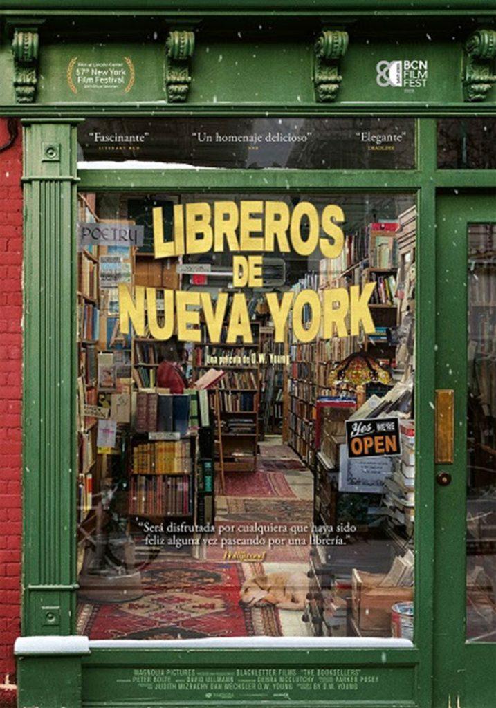 poster de Libreros de Nueva York