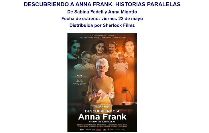 Ficha de Descubriendo a Anna Frank. Historias Paralelas