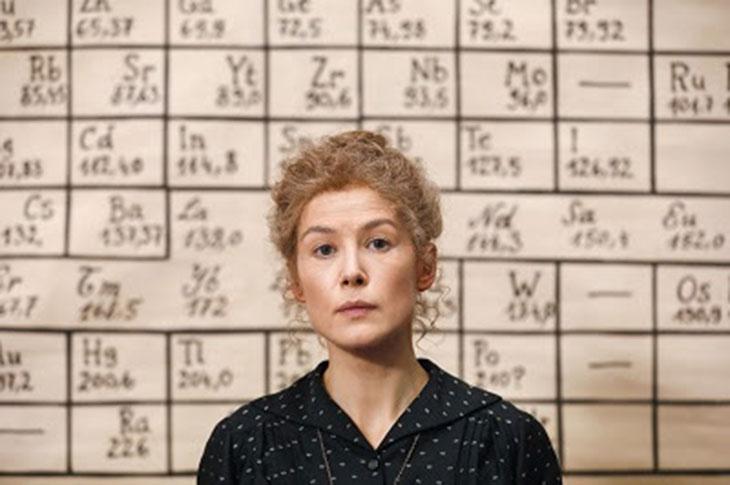 Rosamund Pike es Madame Curie