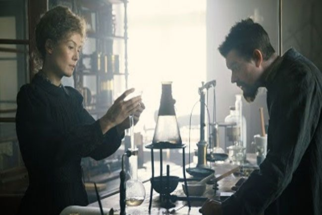 Rosamund Pike es Madame Curie destacada