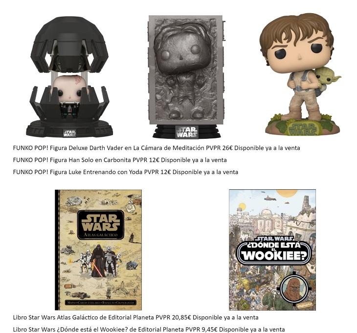 Productos Star Wars 40 Aniversario