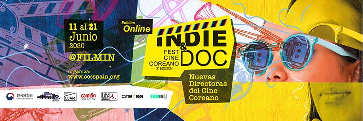 Póster Indie & Doc Fest Cine Coreano
