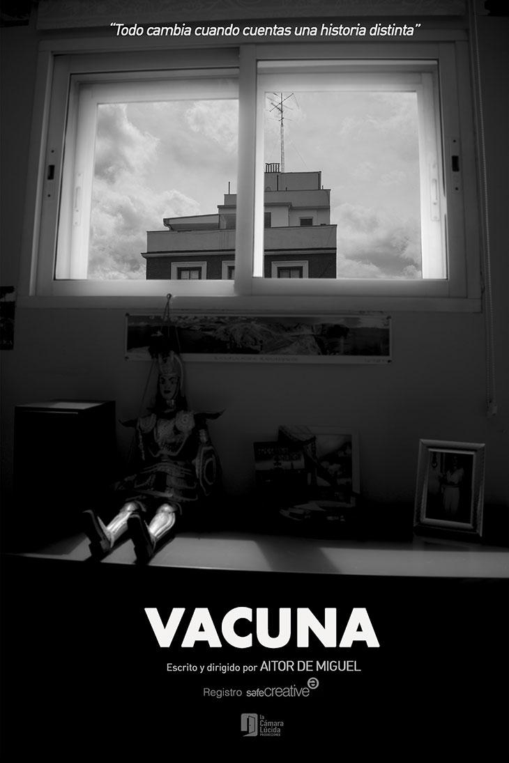 Póster del cortometraje Vacuna