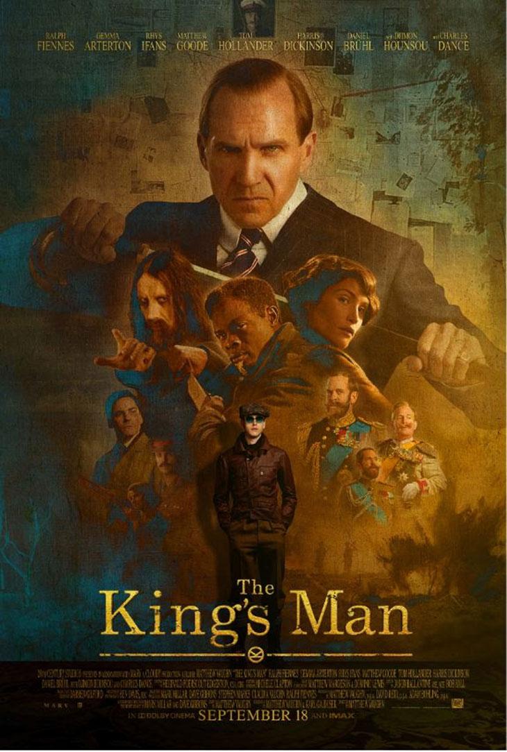 Póster de The King`s Man: la primera misión