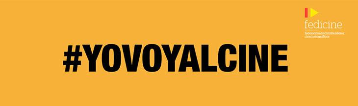 Publicidad de la campaña #YoVoyAlCine