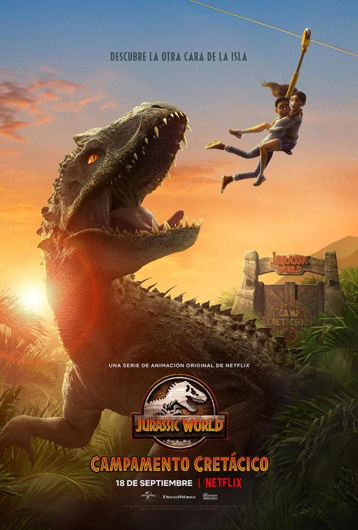Póster de 'Jurassic World: Campamento cretácico'