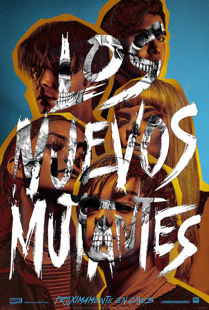 Póster de los nuevos mutantes