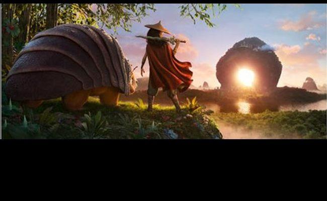 Artwork de Raya y el último dragón
