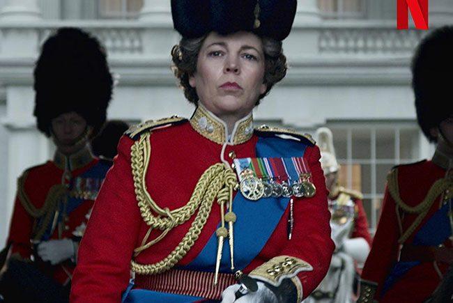 Olivia Colman en The Crown destacada