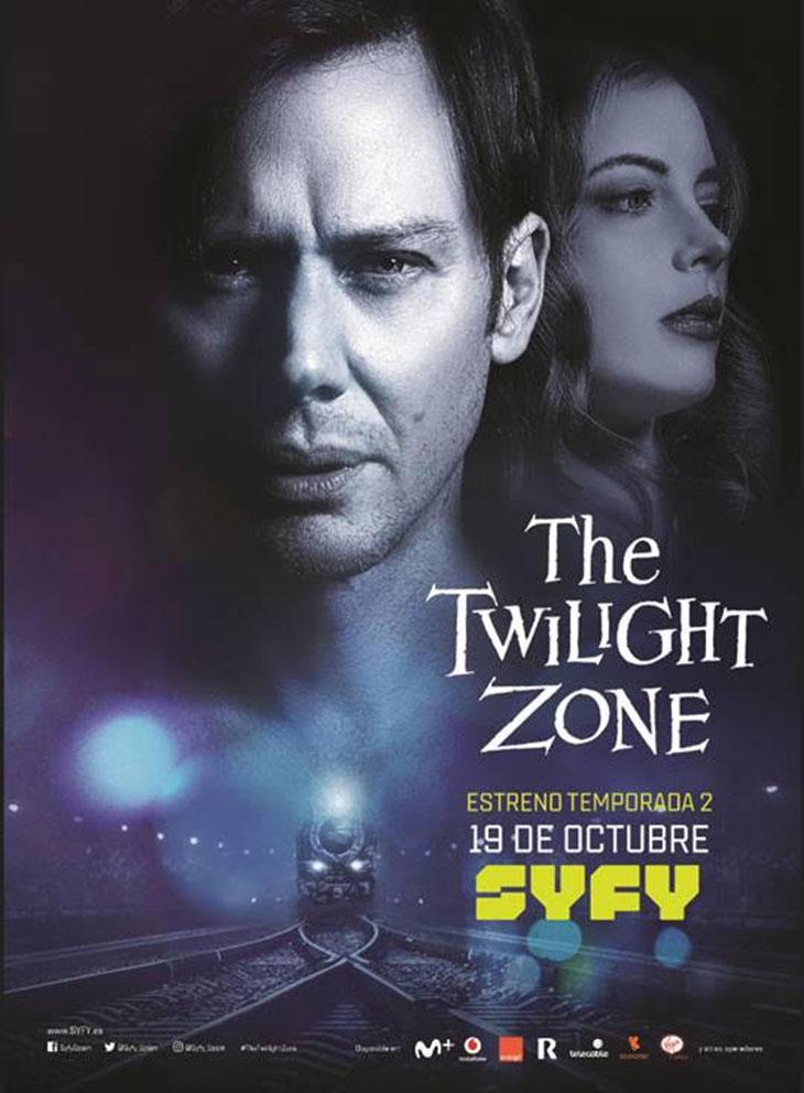 Póster de la segunda temporada de 'The Twilight Zone'