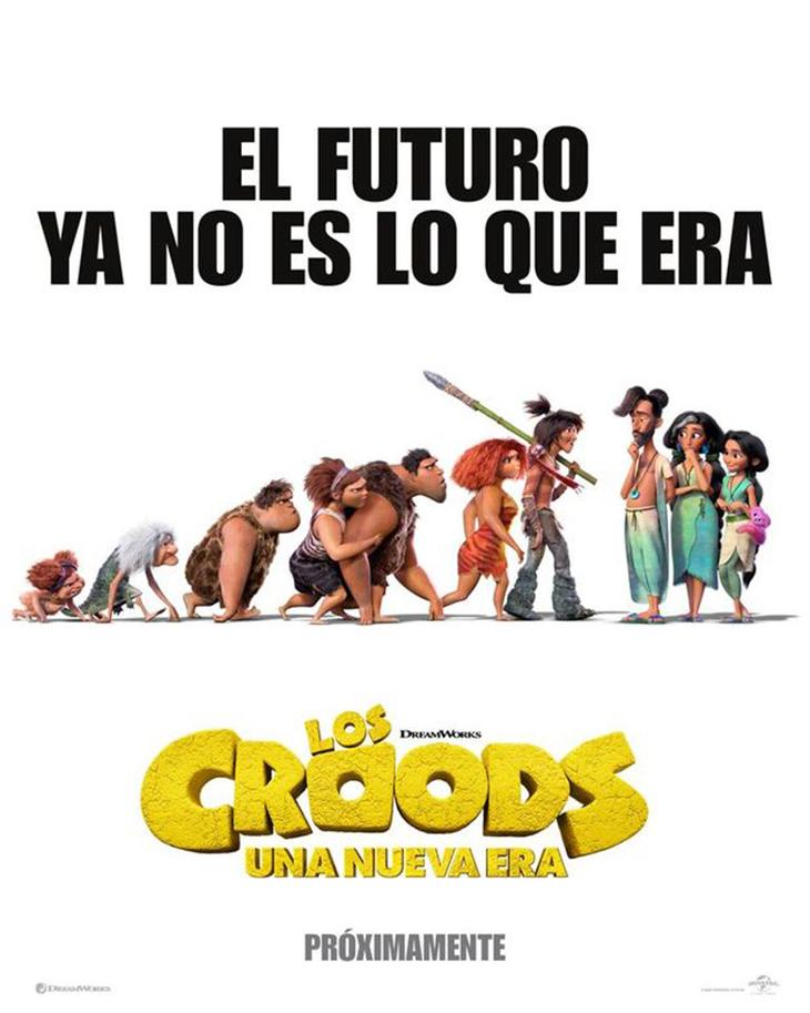 Póster de Los Croods: una nueva era