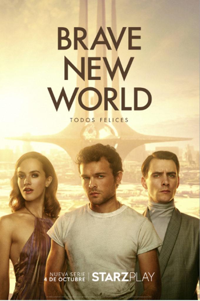 Póster de la serie 'Brave New World'