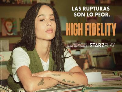 Póster de 'High Fidelity' con Zoë Kravitz destacada
