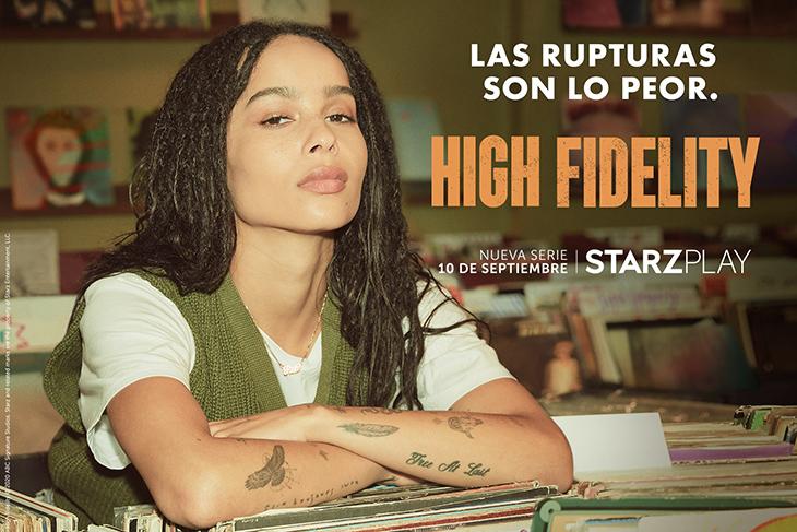 Póster de 'High Fidelity' con Zoë Kravitz