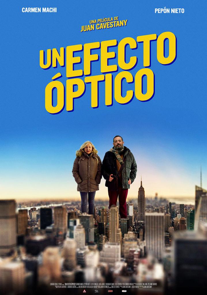Póster de la película 'Un efecto óptico'